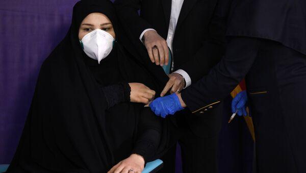 Вакцинация от коронавируса в Иране, фото из архива - Sputnik Азербайджан