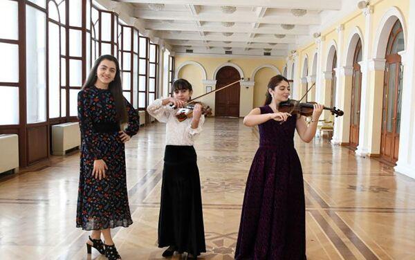 Концерт, посвященный Дню молодежи, в Азербайджанской государственной академической филармонии - Sputnik Азербайджан