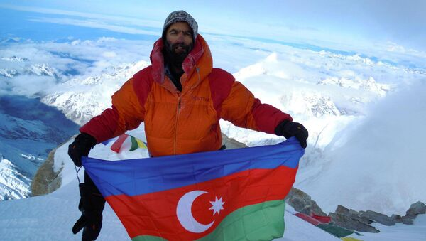 Исрафил Ашурлы, фото из архива - Sputnik Азербайджан