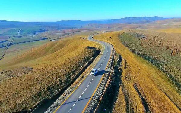 Автодорога Арабгадим-Гёйдере в Гобустанском районе - Sputnik Азербайджан