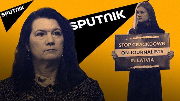 Butinanın təkbaşına piketi: O, Rusiya XİN-in qarşısında nəyə etiraz edib - Sputnik Azərbaycan