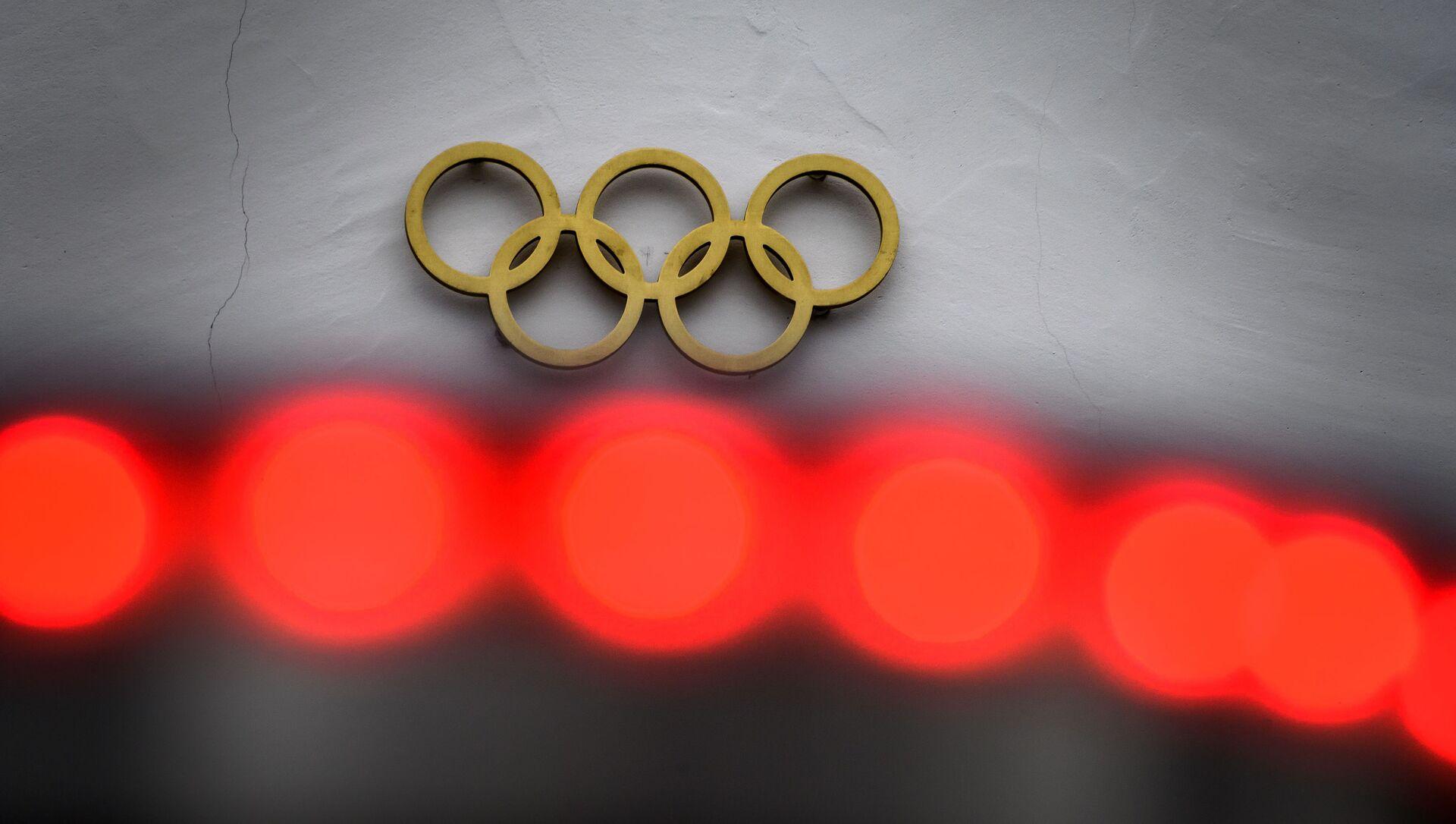 Логотип Олимпийских игр, фото из архива - Sputnik Azərbaycan, 1920, 22.08.2021