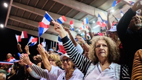 Выборы в Фрнации, фото из архива - Sputnik Азербайджан