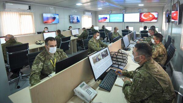 Российско-турецкий центр контроля за соблюдением перемирия в Нагорном Карабахе - Sputnik Азербайджан