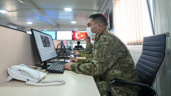 Ağdamda Türkiyə-Rusiya Birgə Monitorinq Mərkəzi - Sputnik Азербайджан