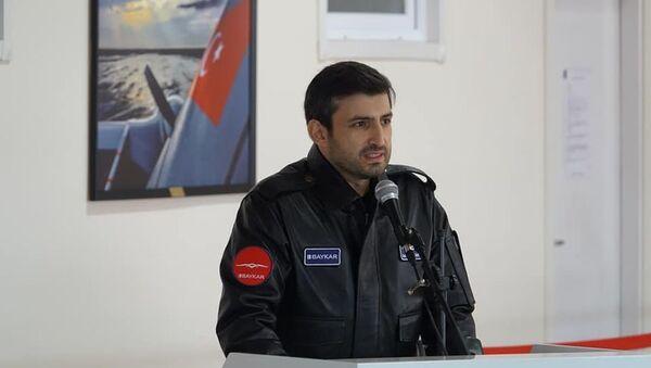Сельджук Байрактар, фото из архива - Sputnik Азербайджан