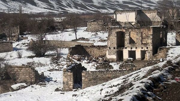 Muğanlı kəndi - Sputnik Азербайджан
