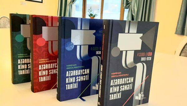 Azərbaycan kino sənəti tarixi  kitabı - Sputnik Азербайджан