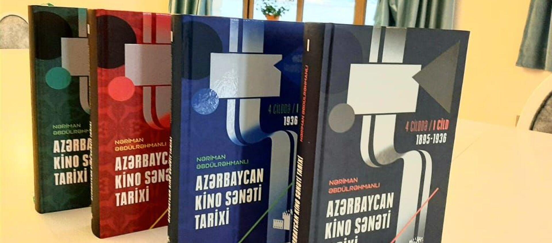 Azərbaycan kino sənəti tarixi  kitabı - Sputnik Азербайджан, 1920, 09.02.2021