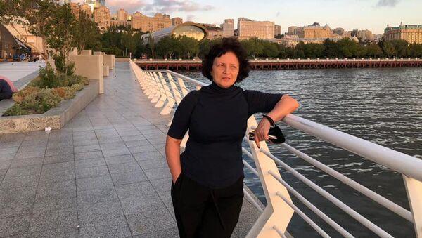 Заслуженный художник Азербайджана Ирина Эльдарова, фото из архива - Sputnik Азербайджан