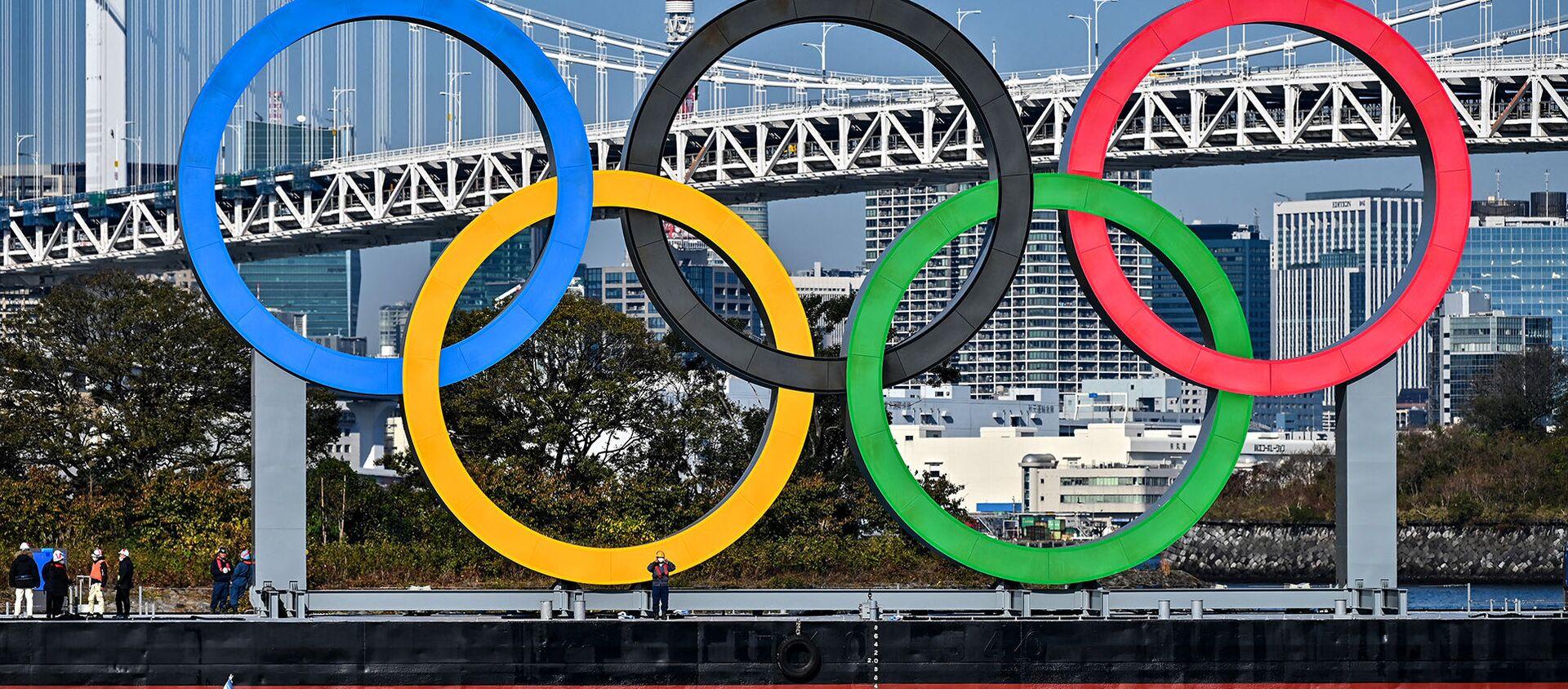 Организаторы Олимпийских игр в Токио опубликовали необычные правила поведения для гостей соревнований - Sputnik Азербайджан, 1920, 10.02.2021
