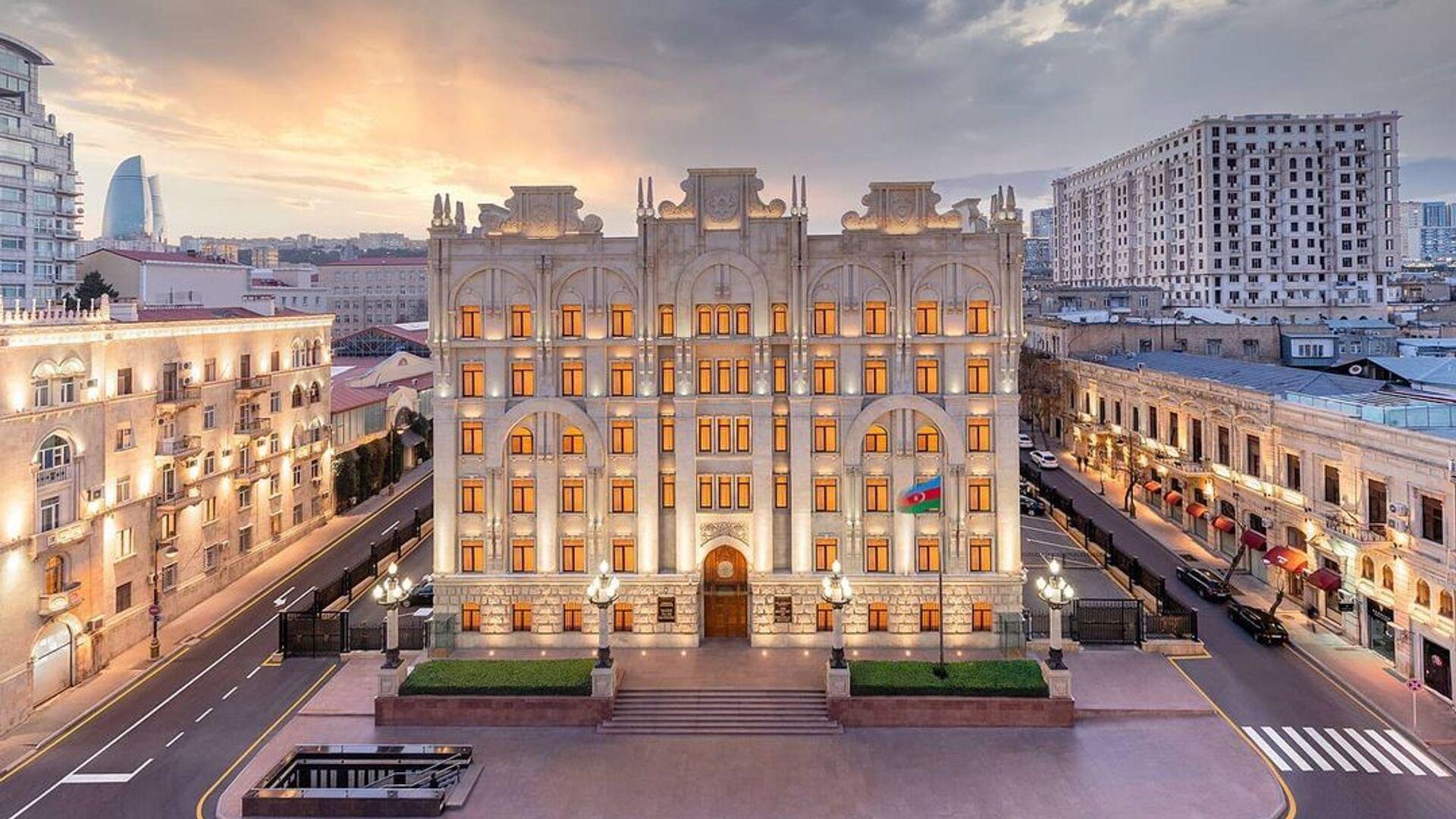 Здание Министерства Внутренних Дел Азербайджанской Республики - Sputnik Азербайджан, 1920, 05.04.2021
