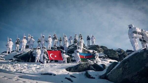 """""""Qış təlimi-2021"""" - Sputnik Азербайджан"""