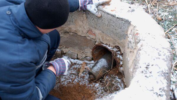 Обезвреживание снарядов, фото из архива - Sputnik Азербайджан