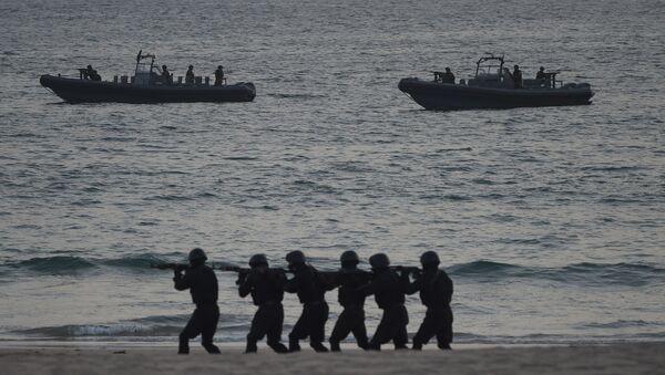 На военно-морских учениях «АМАН-19» в Карачи, фото из архива - Sputnik Azərbaycan