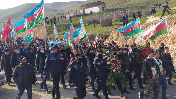 Ağayev Əmirağanın dəfni - Sputnik Азербайджан