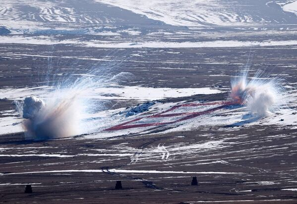 На учениях Зима-2021 - Sputnik Азербайджан