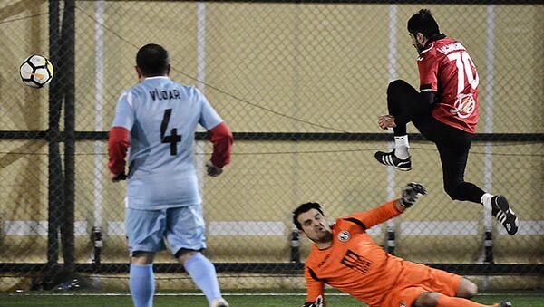 Игровой момент футбольного турнира Кубок Победы - Sputnik Азербайджан