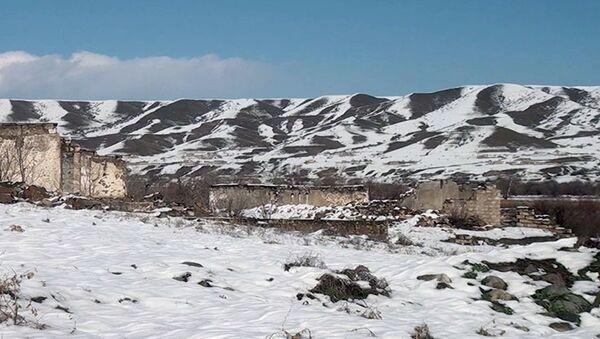 Видеокадры из села Гаралар Губадлинского района  - Sputnik Азербайджан