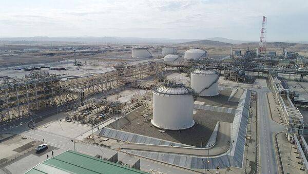 Сангачальский терминал, фото из архива - Sputnik Азербайджан