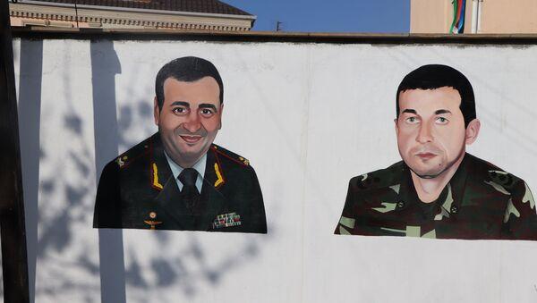 Biləcəridə divar rəsmləri - Sputnik Azərbaycan