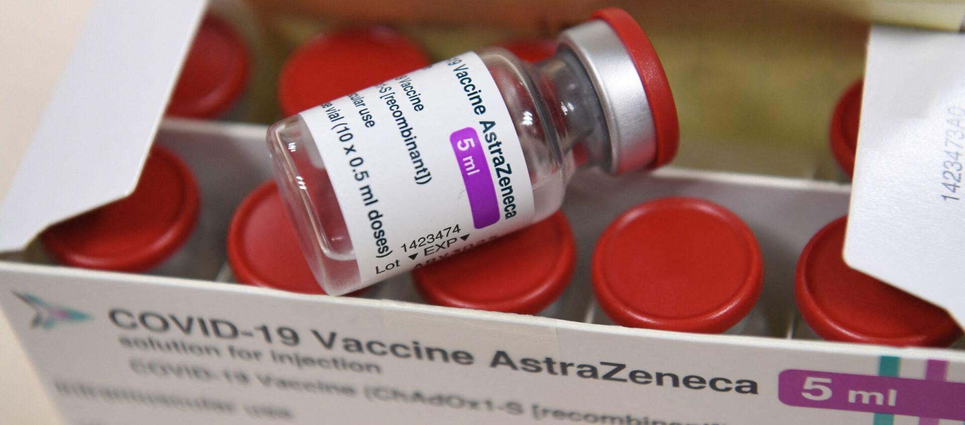Вакцина от коронавируса AstraZeneca, фото из архива - Sputnik Азербайджан, 1920, 04.03.2021