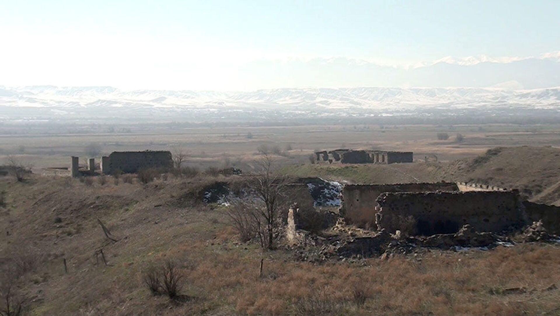 Видеокадры из села Бабайлы Зангиланского района - Sputnik Азербайджан, 1920, 16.02.2021