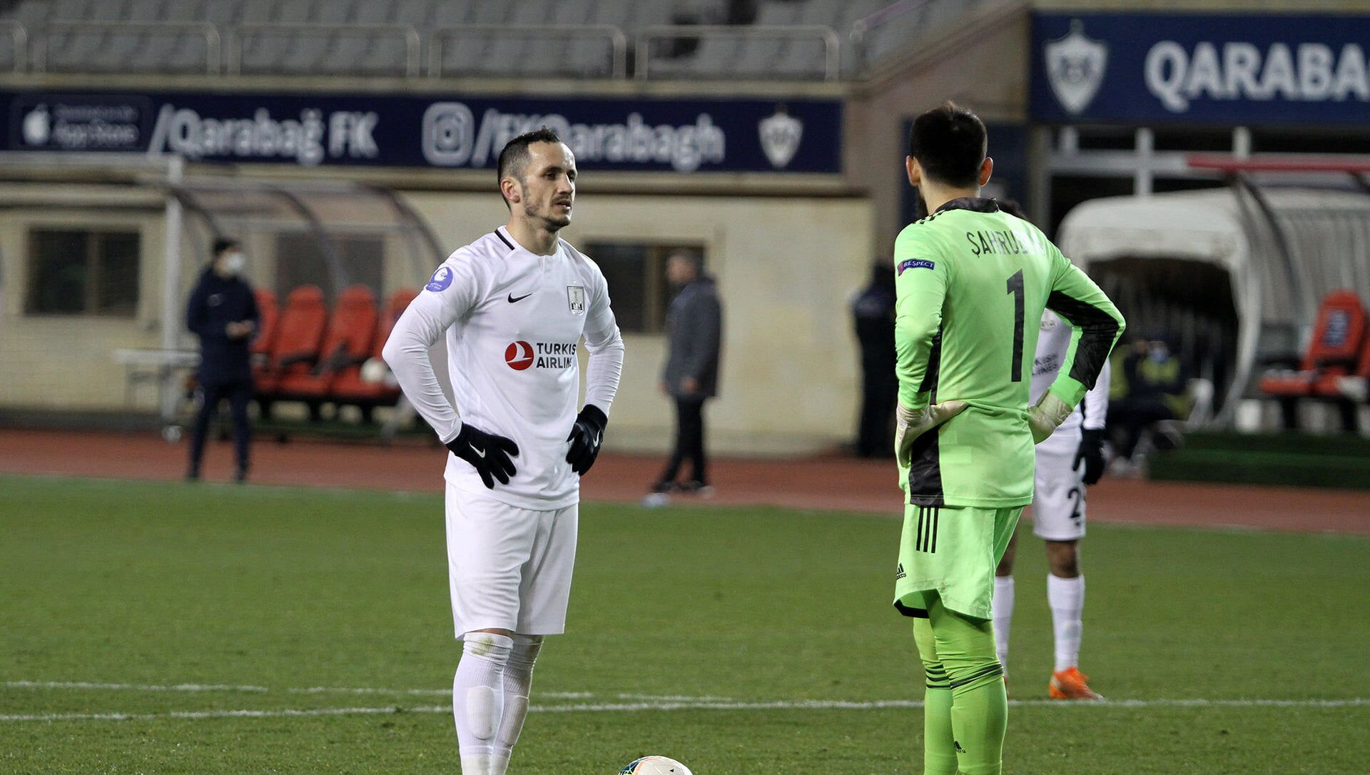 Матч между ФК Карабах и Нетфчи  - Sputnik Азербайджан, 1920, 16.02.2021