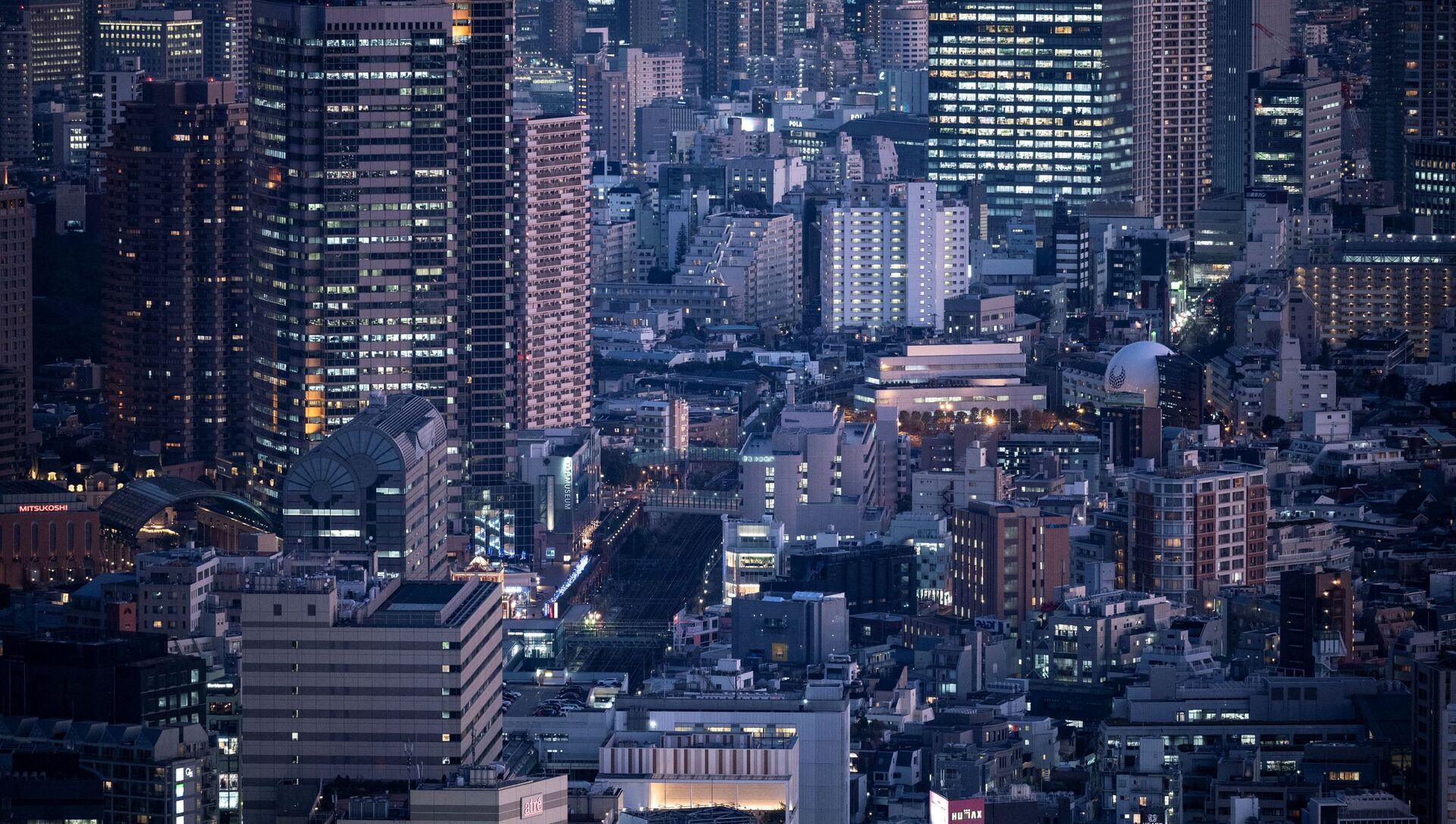 Вид на Токио, фото из архива - Sputnik Азербайджан, 1920, 06.09.2021