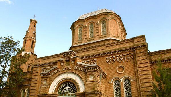 Русская православная церковь Александра Невского в Гяндже - Sputnik Azərbaycan