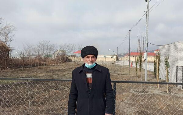 Школьный учитель Агаширина Хаджи Шахмуров - Sputnik Азербайджан