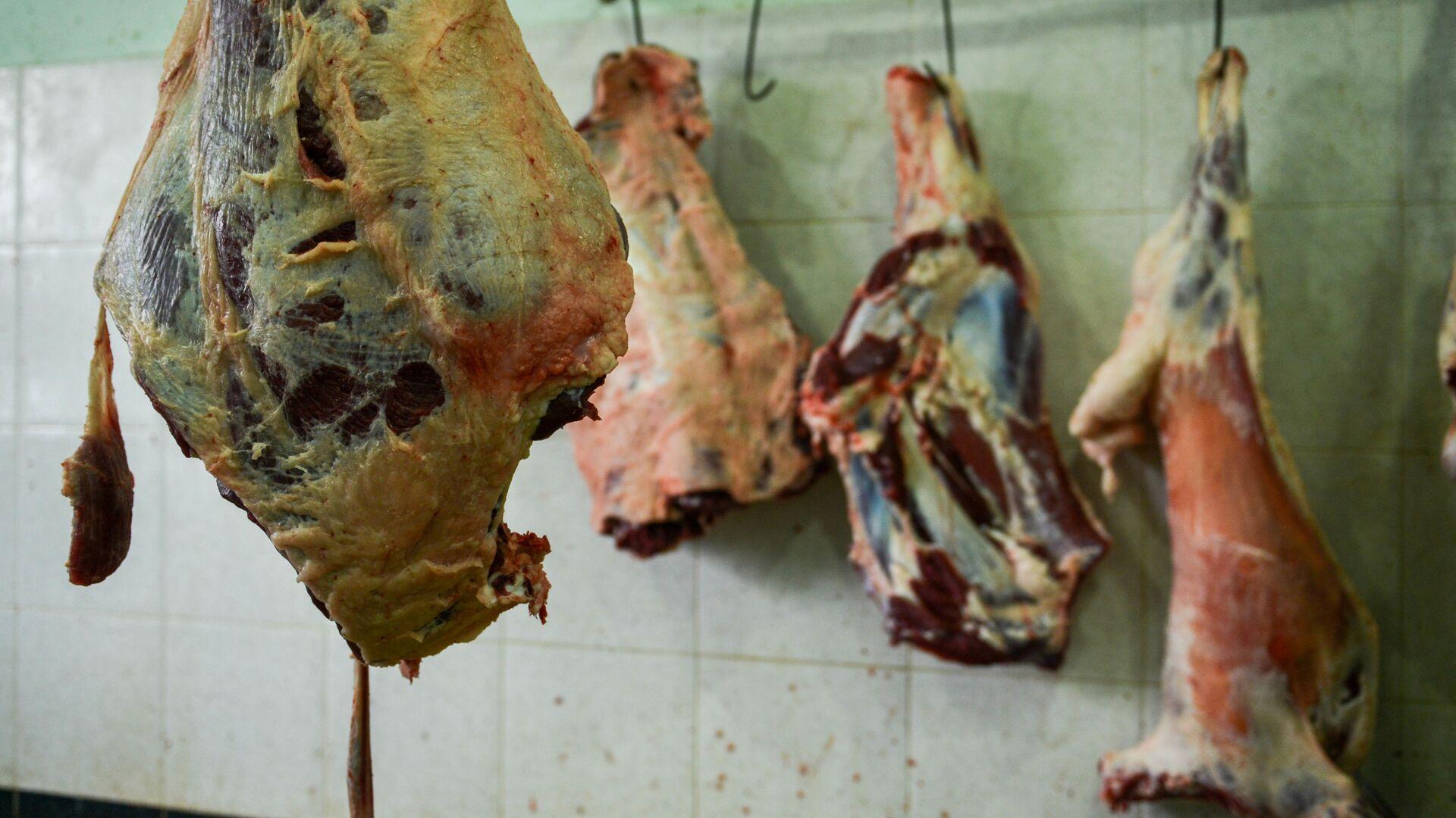 Мясо, фото из архива  - Sputnik Azərbaycan, 1920, 03.08.2021