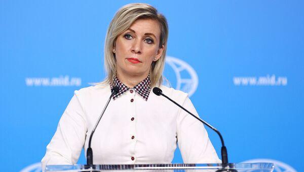 Официальный представитель Министерства иностранных дел России Мария Захарова - Sputnik Azərbaycan