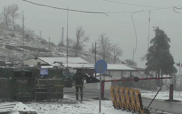 Контроль за соблюдением режима прекращения огня в Карабахе российскими миротворцами - Sputnik Азербайджан