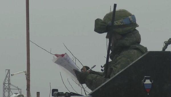 Контроль за соблюдением режима прекращения огня - Sputnik Азербайджан