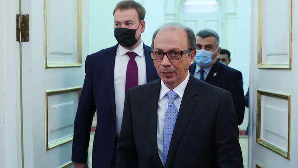 Министр иностранных дел Армении Ара Айвазян, фото из архива - Sputnik Azərbaycan
