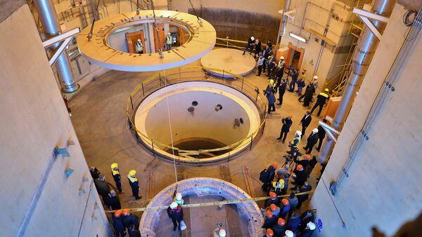 Водяной ядерный реактор в Араке, Иран - Sputnik Азербайджан