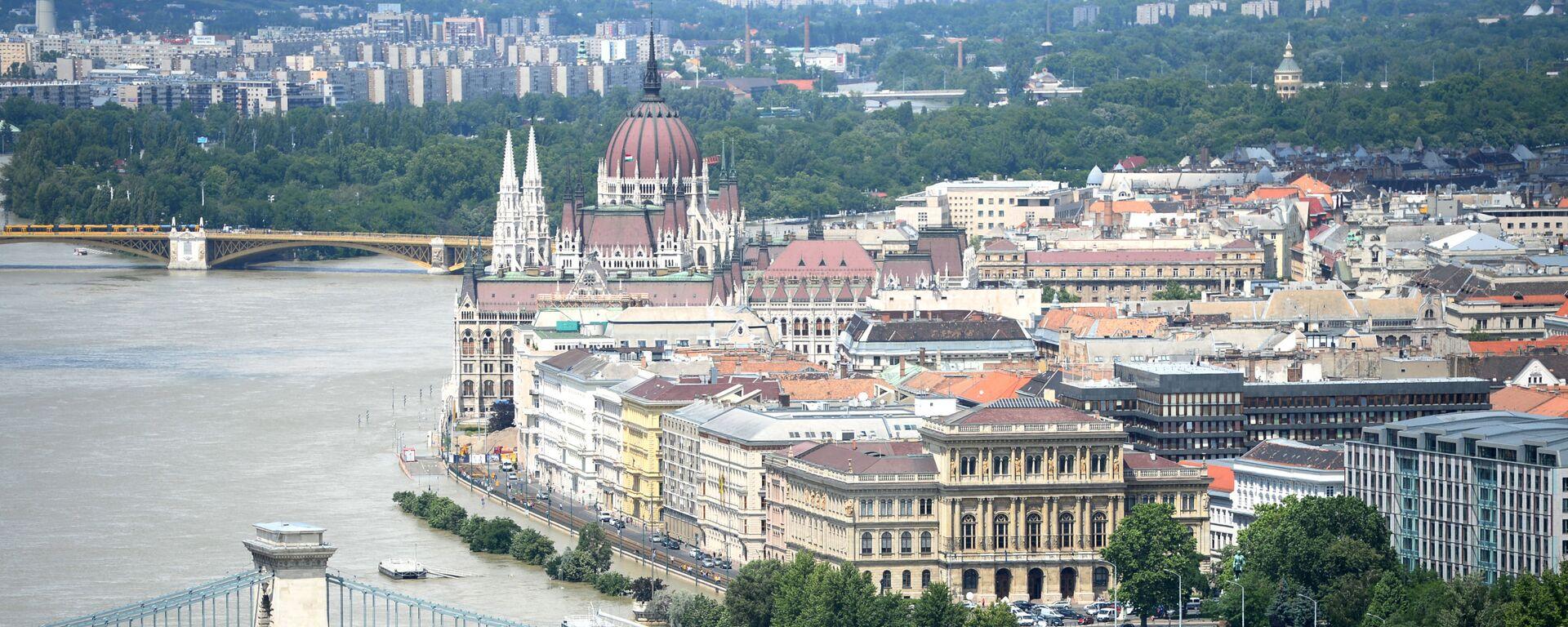 Вид на город Будапешт, фото из архива - Sputnik Азербайджан, 1920, 20.02.2021