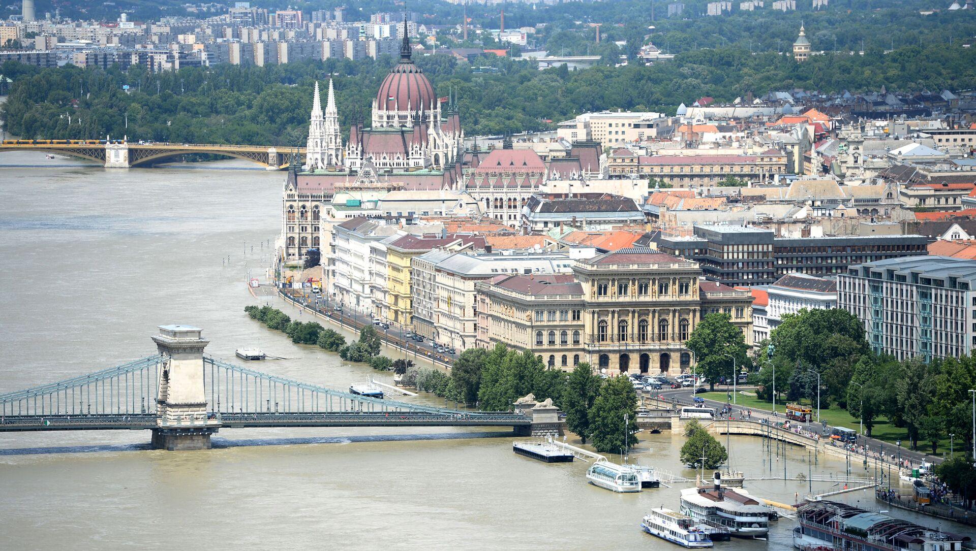 Вид на город Будапешт, фото из архива - Sputnik Азербайджан, 1920, 30.08.2021