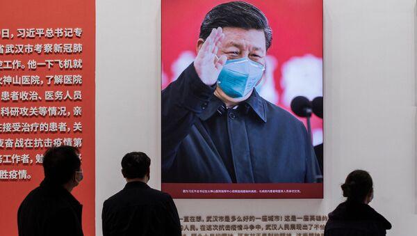 Председатель Китайской Народной Республики Си Цзиньпин  - Sputnik Азербайджан