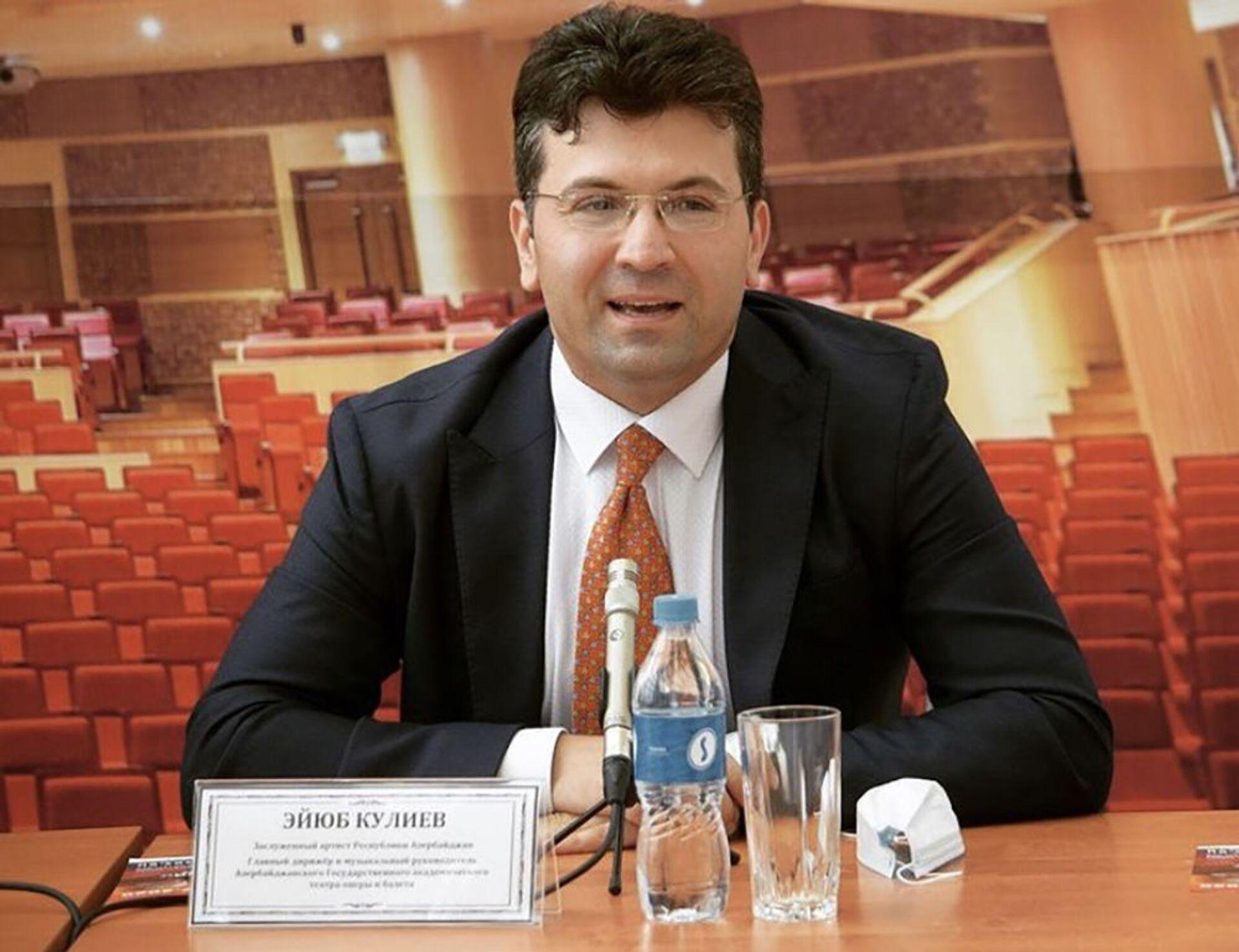Дирижер из Азербайджана стал официальным партнером инициативы Опера за мир - Sputnik Азербайджан, 1920, 22.02.2021