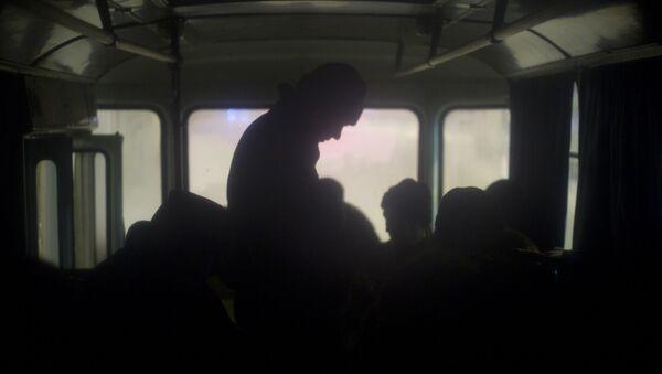 Бездомные люди, фото из архива - Sputnik Azərbaycan