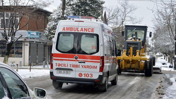 Карета скорой помощи, фото из архива - Sputnik Азербайджан