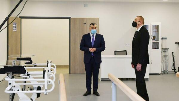Prezident İlham Əliyev pansionatının açılışında iştirak edib - Sputnik Азербайджан