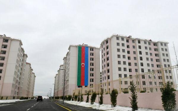 В жилом комплексе в поселке Рамана - Sputnik Азербайджан