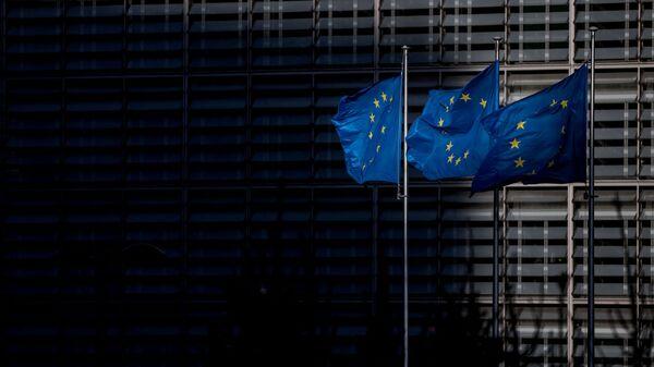Флаг Европейского Союза (ЕС), фото из архива - Sputnik Азербайджан