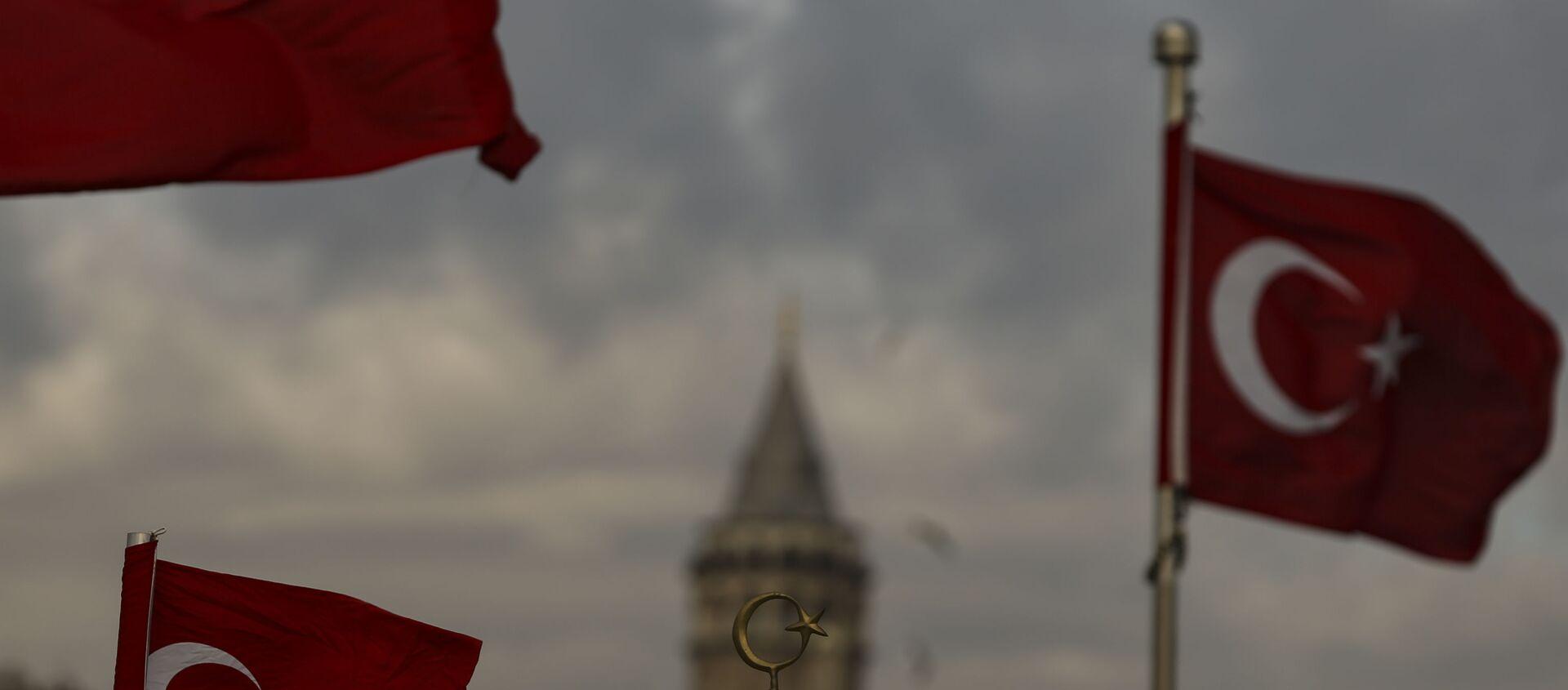 Вид на Стамбул, фото из архива - Sputnik Азербайджан, 1920, 26.04.2021
