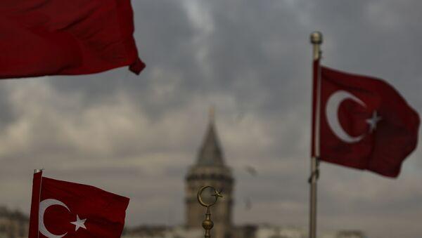 Вид на Стамбул, фото из архива - Sputnik Azərbaycan