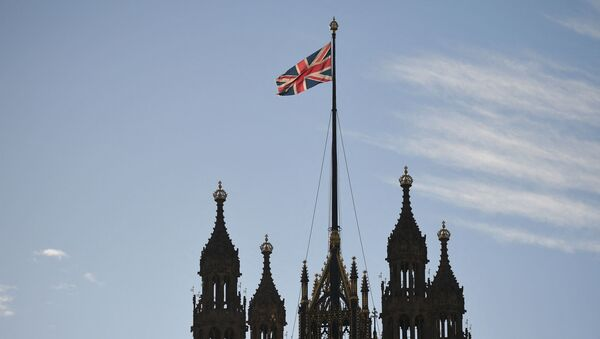 Флаг Великобритании, фото из архива - Sputnik Azərbaycan