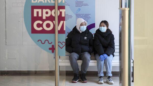 Ситуация в связи с эпидемиологической обстановкой в России, фото из архива  - Sputnik Azərbaycan